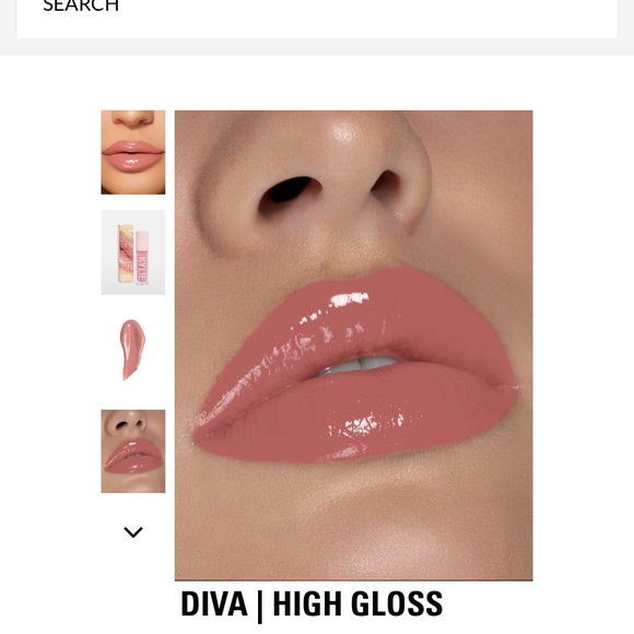 Kylie Cosmetics Other - Brand Kylie high gloss in shade Diva